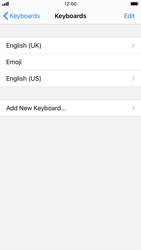 Apple iPhone 7 - iOS 14 - Getting started - How to add a keyboard language - Step 8
