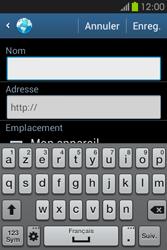 Samsung S6810P Galaxy Fame - Internet - Navigation sur Internet - Étape 10