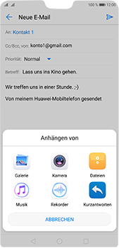 Huawei P20 Pro - E-Mail - E-Mail versenden - 10 / 17