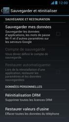 Acer Liquid Z5 - Téléphone mobile - réinitialisation de la configuration d