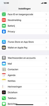 Apple iPhone X - iOS 13 - Beveiliging - stel in of wijzig pincode voor je toestel - Stap 3