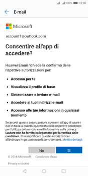 Huawei Y7 (2018) - E-mail - 032c. Email wizard - Outlook - Fase 7