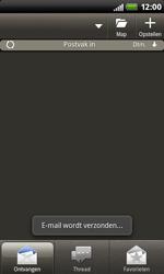 HTC S510b Rhyme - E-mail - hoe te versturen - Stap 14