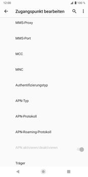Sony Xperia XZ3 - Internet - Manuelle Konfiguration - Schritt 13