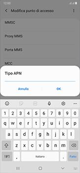 Samsung Galaxy Note 20 Ultra 5G - MMS - Configurazione manuale - Fase 13