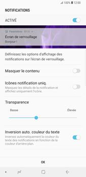 Samsung Galaxy S9 Plus - Sécuriser votre mobile - Activer le code de verrouillage - Étape 11