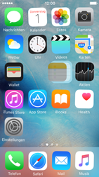 Apple iPhone 5c iOS 9 - Startanleitung - Personalisieren der Startseite - Schritt 4