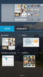 Huawei Ascend G526 - Operazioni iniziali - Installazione di widget e applicazioni nella schermata iniziale - Fase 5