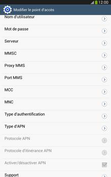 Samsung Galaxy Tab 3 8-0 LTE - Internet et roaming de données - Configuration manuelle - Étape 12