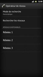 Sony Xperia S - Réseau - Sélection manuelle du réseau - Étape 9