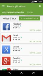 HTC One M8 - Applications - Comment vérifier les mises à jour des applications - Étape 6