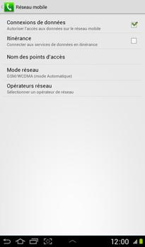 Samsung P3100 Galaxy Tab 2 7-0 - Internet - Configuration manuelle - Étape 6