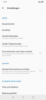 OnePlus 6T - Anrufe - Rufumleitungen setzen und löschen - 7 / 14