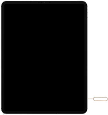 Apple iPad Pro 12.9 inch 4th generation (2020) (Model A2232) - Instellingen aanpassen - SIM-Kaart plaatsen - Stap 2