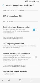 Samsung Galaxy J6 - Sécuriser votre mobile - Personnaliser le code PIN de votre carte SIM - Étape 6