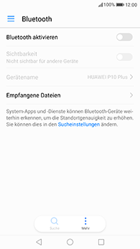 Huawei P10 Plus - Bluetooth - Verbinden von Geräten - Schritt 4