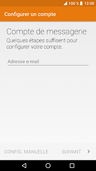 Crosscall Trekker X4 - E-mails - Ajouter ou modifier un compte e-mail - Étape 8