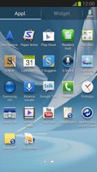 Samsung Galaxy Note II - Applicazioni - Configurazione del negozio applicazioni - Fase 3