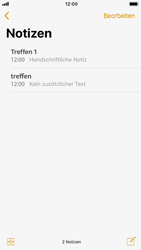 Apple iPhone 8 - iOS 11 - Neue Funktionen der Notizen - 20 / 26
