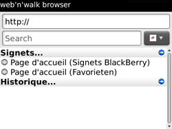 BlackBerry 9700 Bold - Internet - Navigation sur Internet - Étape 4