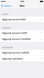 Apple iPhone 5c - E-mail - configurazione manuale - Fase 10