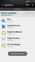 HTC One Mini - Applications - Comment désinstaller une application - Étape 8