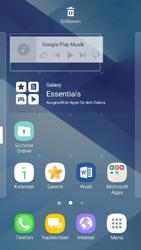 Samsung Galaxy A3 (2017) - Startanleitung - Installieren von Widgets und Apps auf der Startseite - Schritt 10