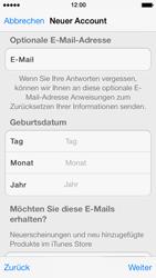 Apple iPhone 5 - Apps - Konto anlegen und einrichten - 26 / 36