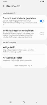 Samsung Galaxy A80 - wifi - schakel Wi-Fi Assistentie uit - stap 10