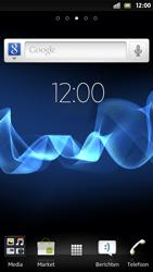 Sony LT26i Xperia S - SMS - handmatig instellen - Stap 1