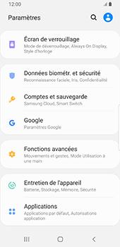 Samsung Galaxy S9 Android Pie - Sécurité - modifier SIM PIN - Étape 4