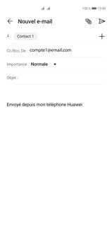 Huawei P40 Pro - E-mails - Envoyer un e-mail - Étape 7