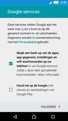 Sony Xperia M4 Aqua (E2303) - Applicaties - Account aanmaken - Stap 13