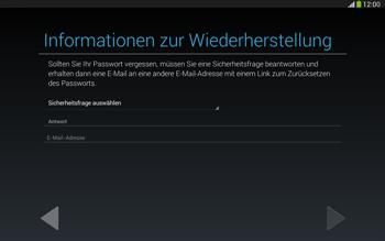 Samsung Galaxy Tab 3 10-1 LTE - Apps - Konto anlegen und einrichten - 13 / 25