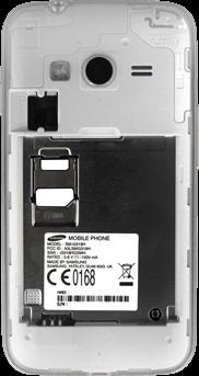 Samsung Galaxy Trend 2 Lite - SIM-Karte - Einlegen - 2 / 2