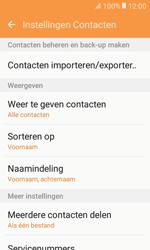 Samsung Galaxy Xcover 3 VE (SM-G389F) - Contacten en data - Contacten kopiëren van toestel naar SIM - Stap 6