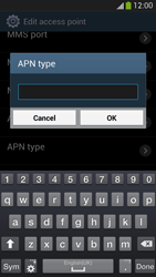 Samsung Galaxy S 4 Active - Internet and data roaming - Manual configuration - Step 14
