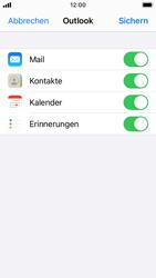 Apple iPhone SE - iOS 14 - E-Mail - 032c. Email wizard - Outlook - Schritt 8