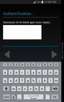 Samsung Galaxy Note Edge - Applications - Configuration de votre store d