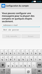 Alcatel One Touch Idol S - E-mail - Configuration manuelle - Étape 6