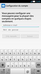 Alcatel One Touch Idol S - E-mail - Configuration manuelle - Étape 6