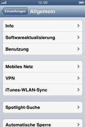 Apple iPhone 3GS - Software - Installieren von Software-Updates - Schritt 6