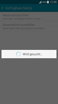Samsung Galaxy Note 4 - Netzwerk - Manuelle Netzwerkwahl - Schritt 8