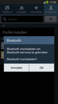 Samsung N9005 Galaxy Note III LTE - Contactgegevens overzetten - delen via Bluetooth - Stap 9