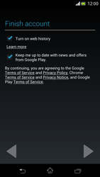 Sony Xperia V - Applications - Setting up the application store - Step 15