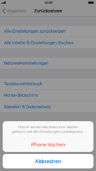 Apple iPhone 7 iOS 11 - Gerät - Zurücksetzen auf die Werkseinstellungen - Schritt 6