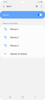 Samsung Galaxy S20 Plus 5G - WiFi - Configuration du WiFi - Étape 7