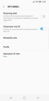 Samsung Galaxy S8 - Rete - Selezione manuale della rete - Fase 6