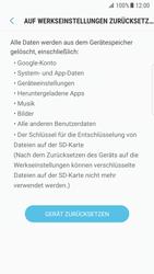 Samsung Galaxy S7 Edge - Android N - Gerät - Zurücksetzen auf die Werkseinstellungen - Schritt 7