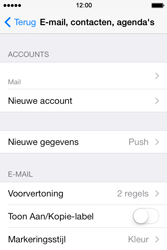 Apple iPhone 4 iOS 7 - E-mail - Account instellen (POP3 met SMTP-verificatie) - Stap 14
